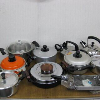 両手鍋 片手鍋 卵焼き器 やかん 色々 まとめて 11個セット