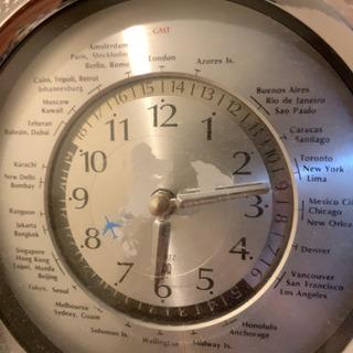 高級 HOYA インテリア世界時計