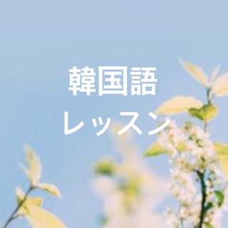 韓国語レッスン/生徒に合わせたレッスンプラン♪