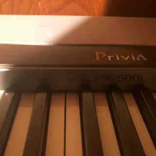 casio 電子ピアノ PX-500L 【スタンド CS-55P...