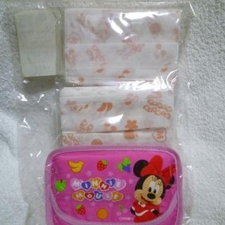 ディズニー Disney ミニーちゃん ポケットティッシュ カバ...