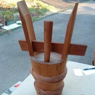 角樽(ツノタル)・めでたい席の酒樽