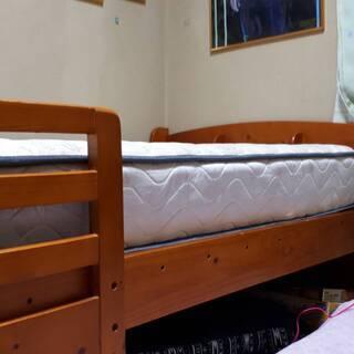 [取引中]【美品】宮付すのこベッド