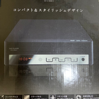 DVD PLAYER visitech コンパクト&スタイリッシ...