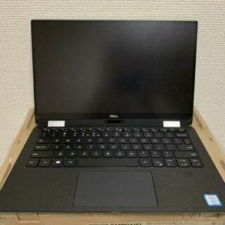 中古美品 Dell 2in1ノートパソコン XPS 13 9365