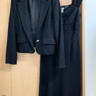 エニィスィスジャケット+ワンピース 黒色