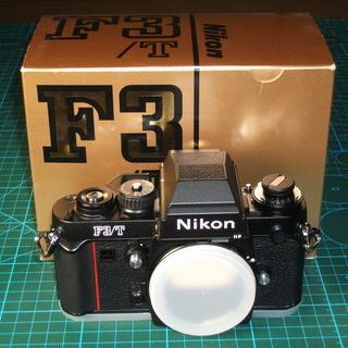 送料無料 元箱 ニコン F3/T チタンブラックボディを売ります...