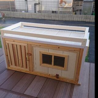 手作り犬小屋【ドッグハウス】