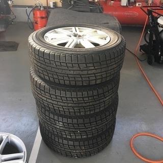 美品ホイール+タイヤ 4本セットです