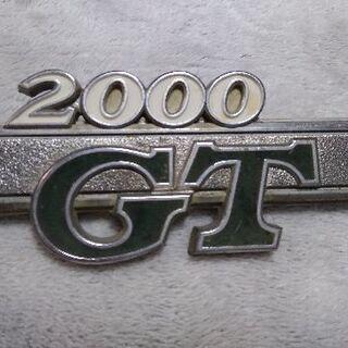 2000-GT エンブレム☆激レア商品☆