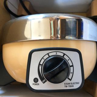 1人用電気鍋の画像