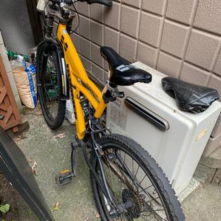 無料 自転車とダブルサイズマットレスセット