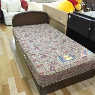 シングルベッド 木製【トレファク岸和田】