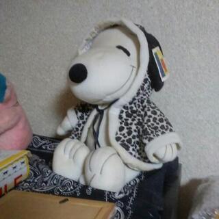 スヌーピー☆ヒョウ柄☆ぬいぐるみ☆非売品