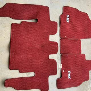 ホンダS-MXフロアカーペット赤
