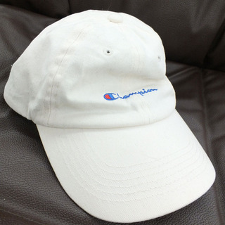 Champion チャンピオン キャップ ローキャップ 帽子 白...