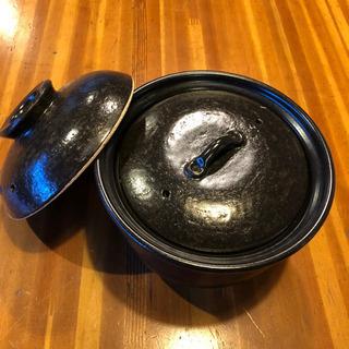 AKOMEYA TOKYO 有田焼 黒釉 土鍋 3合