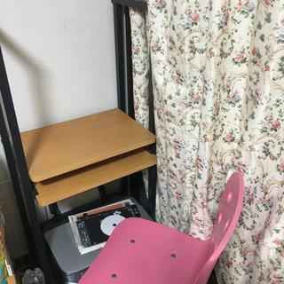 訳ありパソコンラックと椅子