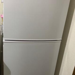 冷蔵庫 2ドア maxzen ホワイト