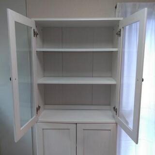 お譲りします!白くておしゃれな収納棚です。 - 明石市