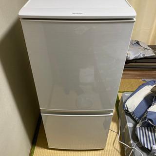 シャープ冷蔵庫 美品137L