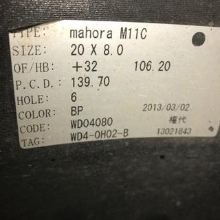 超希少ホイール WALD mahora20インチ