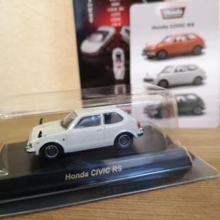 【京商】ミニカー 1/64 Honda Civic RS 白