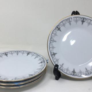 Noritake(ノリタケ)シルバーゲート 中皿 4枚