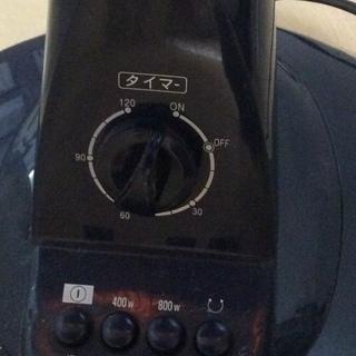 遠赤外線速暖ハロゲンヒーター フカダック 800W FH-883 - 家電