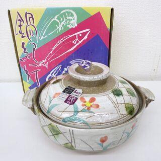 ■未使用品■鍋紀行 耐熱土鍋 6号鍋 一人用