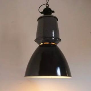 ヴィンテージ インダストリアル照明 ウェアハウス/工業系/caf...