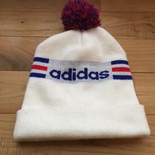 adidasニット帽