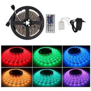 新品未使用!LEDテープライト 防水 間接照明 切断可能 貼り付...