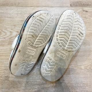 クロックス⑤ 日本サイズ18.5cm キッズ 男児12 女児13 サンダル シューズ - 靴/バッグ