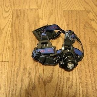 【ジャンク】 led lenser レッドレンザー ヘルメット用...