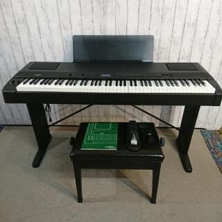 値下げしました❗YAMAHA 電子ピアノ P-200 シンセサイ...
