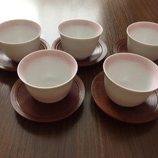 湯飲みお茶碗 5点セット 値下げしました。
