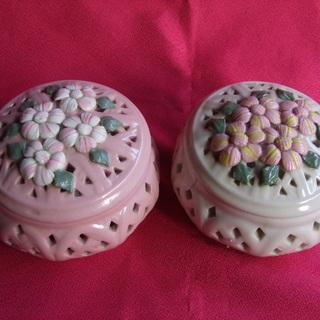 🔸🔷小物入れ🔷🔸 陶器製 3個で100円