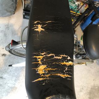 YBR125 純正シートバイク