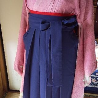 袴の着付けします。