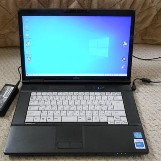富士通15.6インチノートパソコン A572/F [Core-i...