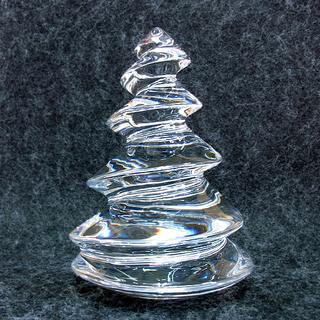バカラ クリスマスツリー 装飾品 置物 南12条店