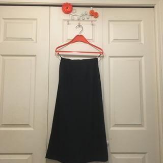 値下げ❗️黒のタイトロングスカート、W63〜65、冠婚葬祭