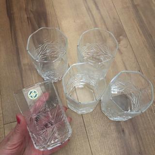 HOYAグラス 5つセット 未使用品