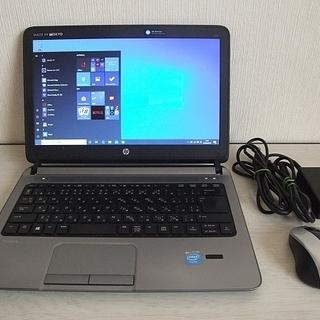 高速SSD120GB搭載 HP ProBook 430 G1