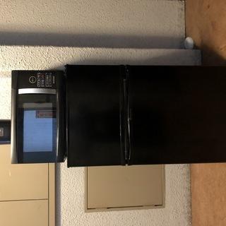 【家電三点セット】【0円】【購入1年以内】冷蔵庫・電子レンジ・炊...