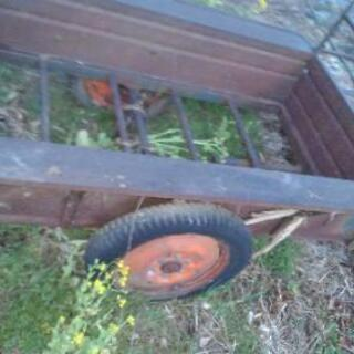 耕運機に使用 荷台