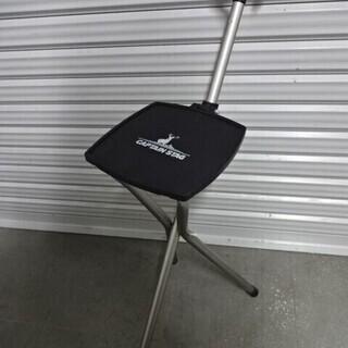 キャプテンスタッグ 椅子 アルミスマート 三脚チェア