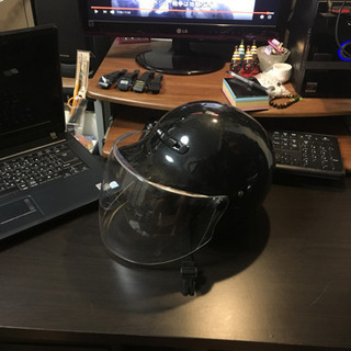 《譲渡完了》ノーブランド ヘルメット フリーサイズ