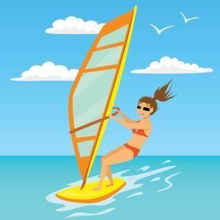 【4月中旬終了】ウインドサーフィン スラロームボード